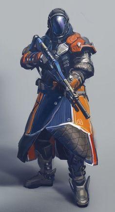 Rpg Cyberpunk, Cyberpunk Character, Character Concept, Character Art, Character Design, Armor Concept, Concept Art, Warlock Class, Destiny Warlock