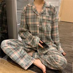 Plaid Pajamas, Cute Pajamas, Pajamas Women, Pyjamas, Pajama Outfits, Cute Outfits, Night Pajama, Cute Pajama Sets, Cute Sleepwear