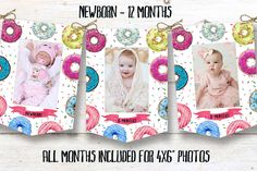 Donut birthday banner, Donut instant download party banner, You print birthday banner, Donut DIY party banner Diy Party Banner, Weathered Grey Stain, Off White Paints, Pop Up Market, Cute Donuts, Monthly Photos, Photo Banner, Housewarming Party, Green Wedding Shoes