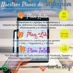 Planes Instagram. #agenciasmm #medellin #bogota #riodejaneiro #saopaulo #lima #quito #caracas #panama #costarica #guatemala #puertorico #cartagena #cali #barranquilla #mexico #latinoamerica #riodejaneiro #colombia #miami #republicadominicana