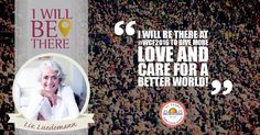"""""""I will be there at the #WorldCultureFestival to give more love and care for a better world!"""" - Liz Luedemann #world #culture #festival #germany #Love #innerpeace by wcf2016"""