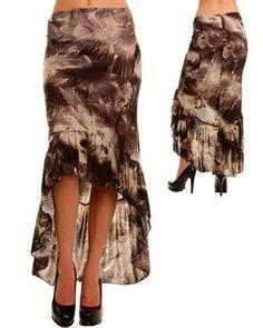 feather skirt bird