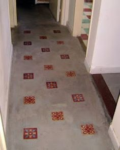 1000 images about pisos revestimientos on pinterest tile floors and concrete tiles - Banos con microcemento alisado ...