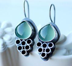 WEEKEND SALE Unique Handmade Earrings with por EONDesignJewelry