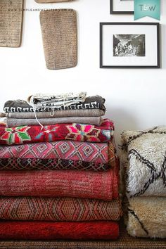 electic mix of rugs