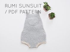 Rumi Sunsuit PDF Download// Baby Romper Onesie Knitting Pattern - Baby Knitting Patterns - Easy Knitting Patterns by localparitygoods on Etsy https://www.etsy.com/listing/245620666/rumi-sunsuit-pdf-download-baby-romper