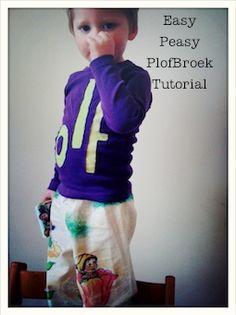 MaandagDaandag: Plof Broek Tutorial & DIY GiveAway