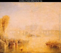 View of the Pont Neuf, Paris - Joseph Mallord William Turner - www.william-turner.org