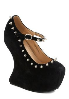 Rebel Belle Wedge, #ModCloth  Just fab $70