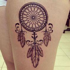 Dreamcatcher Tattoo by Mike Sledz