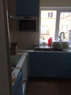 Kitchen going in