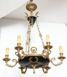 black crystal chandelier   Apartment and Home Stuff   Pinterest ...