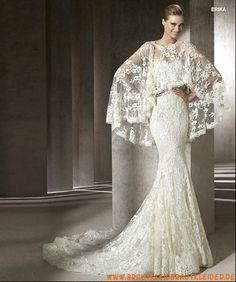 Extravagante sexy Brautkleider mit Spitze im Meerjungfrauesntil 2013