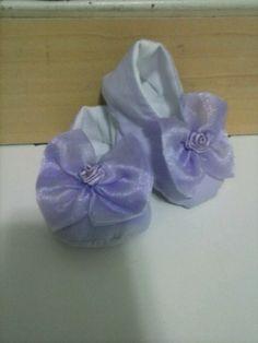 sapatinho de tecido