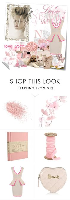 """""""Baby not hurt me"""" by reaki10 ❤ liked on Polyvore featuring Post-It, Andres Sarda, Napoleon Perdis, Maison Michel, philosophy, Harrods and Giuseppe Zanotti"""