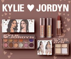 Kylie Jenner Cosmetics Wife Life Kylie X Jordyn Collection Bundle Kylie Cosmetics Valentines Collection, Colour Pop Makeup, Wet Set, Kylie Jenner Makeup, Makeup Set, Beauty Makeup, Book Nerd, Favorite Holiday, Valentine Day Gifts