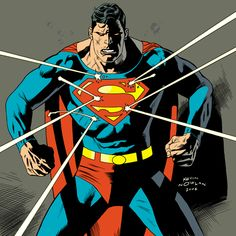 Superman by Kevin Nowlan