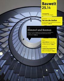 Bauwelt : zeitschrift für das gesamte bauwesen v.105 no.25 (4 jul. 2014) http://encore.fama.us.es/iii/encore/record/C__Rb1216780?lang=spi