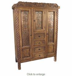 Rustic Antique Replica Wardrobe