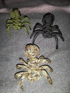 Paracord spiders!