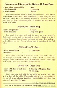More Remarkable Danish Recipes - How To Cook Like Your Grandmother