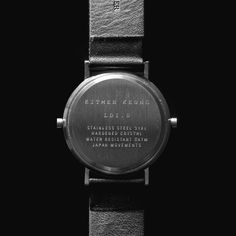 Long Distance watch now available at Dezeen Watch Store