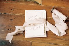 Stationery: Wildfield Paper Co. - http://www.stylemepretty.com/portfolio/wildfield-paper-co Photography: Megan Robinson Photography - http://www.stylemepretty.com/portfolio/megan-robinson-photography-2   Read More on SMP: http://www.stylemepretty.com/2015/05/04/part-ii-organic-minimal-wedding-inspiration/