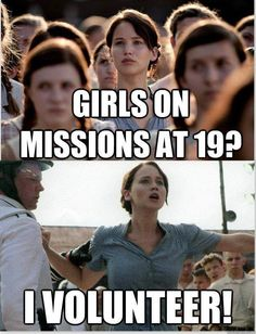 I volunteer to be a sister missionary.