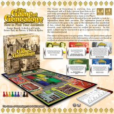 The Game of Genealogy