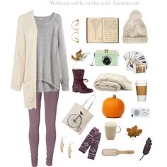 Comfy casual fall/winter outfit.