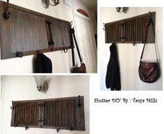 DIY Shutter, rustic.