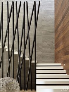 super ideas for floating stairs design railings Modern Stair Railing, Stair Handrail, Staircase Railings, Modern Stairs, Staircase Design, Stairways, Iron Railings, Interior Work, Interior Stairs
