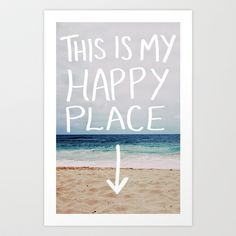 Save me a Seat by the Waves #happyplace