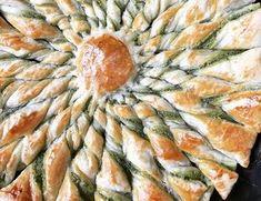 Tarte soleil au beurre d'escargot #cuisine #recette