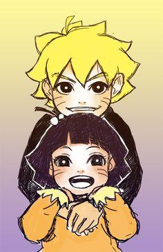 Naruto & Hinata | <3<--- uhmm excuse me that is bolt and himawari thier kids