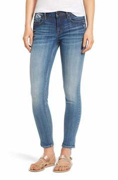 Light Skinny Jeans- size 26 Ross Store, Light Blue Jeans, Ankle Length, Indigo, Jeans Size, Skinny Jeans, Pants, Shopping, Nordstrom Rack