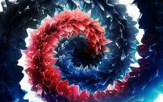 Wallpaper 4k Deep Rich Colors Abstract Wallpaper