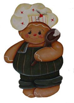 Porta papel toalha em MDF da Ginger, um personagem muito simpático e levado.  Este Menino já andou mexendo na massa do Bolo.  Ele estão enfeitados para o Natal.  Vai ser uma noite de muita festa. R$ 50,00