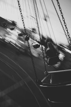 Images like this invoke memories of our innocence and whimsy. The shutter speed is slowed making the swings appear in motion. Pastel Sky, Summer Fair, Summer 3, Photoshop, Lily Evans, Photos Voyages, Tumblr Photography, Motion Photography, Nostalgia Photography