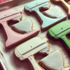 Kitchenaid mixer cookies, obviously I need the cutter to make these.