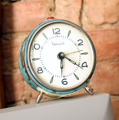 Vintage Russian alarm clock.
