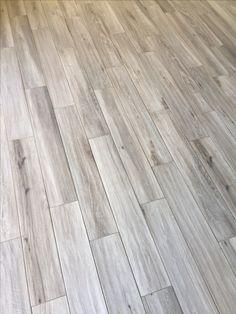 gravel gray porcelain wood plank tiles walnut gravel flooring remodel farmhouse
