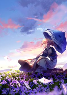 """Violet Evergarden (Collab) by lluluchwan on DeviantArt - """" The Effective Pictures We Offer You About trends products A quality picture can tell you many - Wallpaper Animé, Violet Evergarden Wallpaper, Cute Anime Wallpaper, Wallpaper Backgrounds, 480x800 Wallpaper, Iphone Backgrounds, Anime Shojo, Manga Anime, Anime Art"""