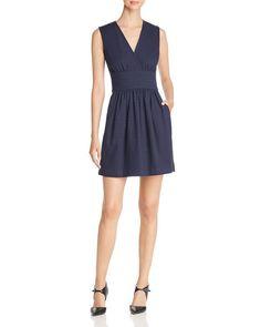 Paule Ka Pique A-Line Dress