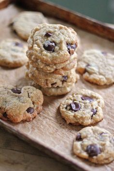 Eat Good 4 Life » The ultimate coconut chocolate chip cookie.