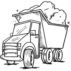 truck color pages transportation coloring pages coloring pages for kids thousands of free printable coloring pages for kids - Construction Signs Coloring Pages