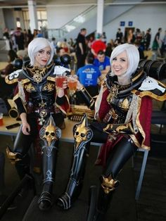 Cosplay Pictures Of Today - FunLoger Warhammer Online, Warhammer 40k Memes, Warhammer 40000, 40k Sisters Of Battle, Steampunk, Space Marine, Best Cosplay, Cosplay Girls, Anime