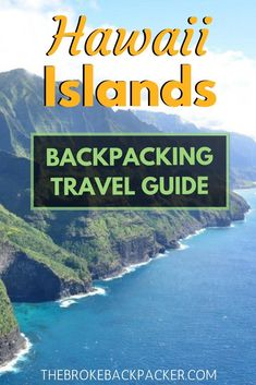 Interested in backpacking Hawaii? This is my guide to backpacking Hawaii on a budget with tons of advice on backpacking in Hawaii. Hawaii Travel Guide, Usa Travel Guide, Travel Usa, Travel Guides, Travel Tips, Travel Info, Travel Hacks, Italy Travel, Best Island Vacation