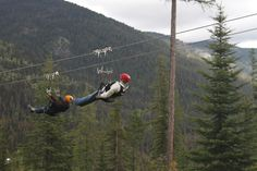 9. Just was here doing this last week....Zipline at Big Mountain in Whitefish Montana