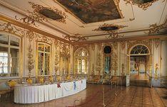 Salle des Chevaliers (7) - Palais Catherine -  Tsarskoie Selo - Réalisée par Bartoloméo Rastrelli en 1756.